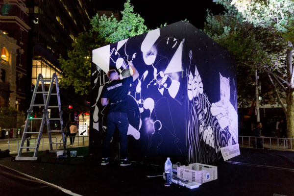 Just Another Agency - White Night - Outside the Box