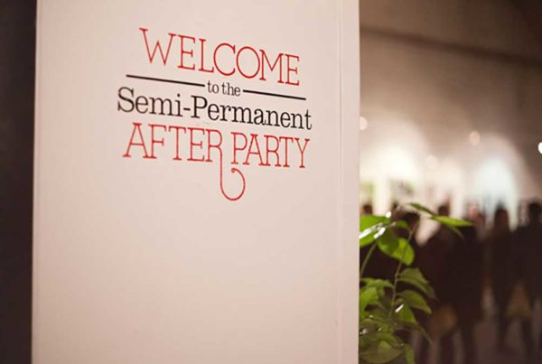 Just Another Agency - Semi Permanent After Party